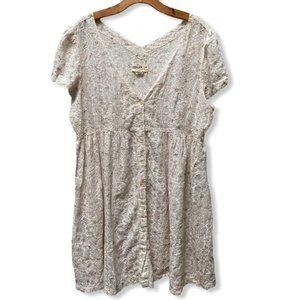 Ralph Lauren Denim & Supply Babydoll Dress XL